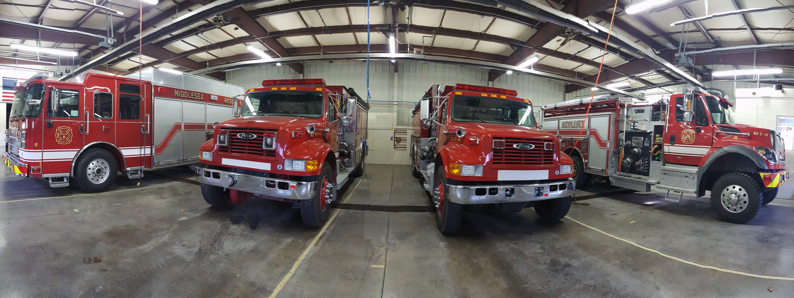 fire department trucks